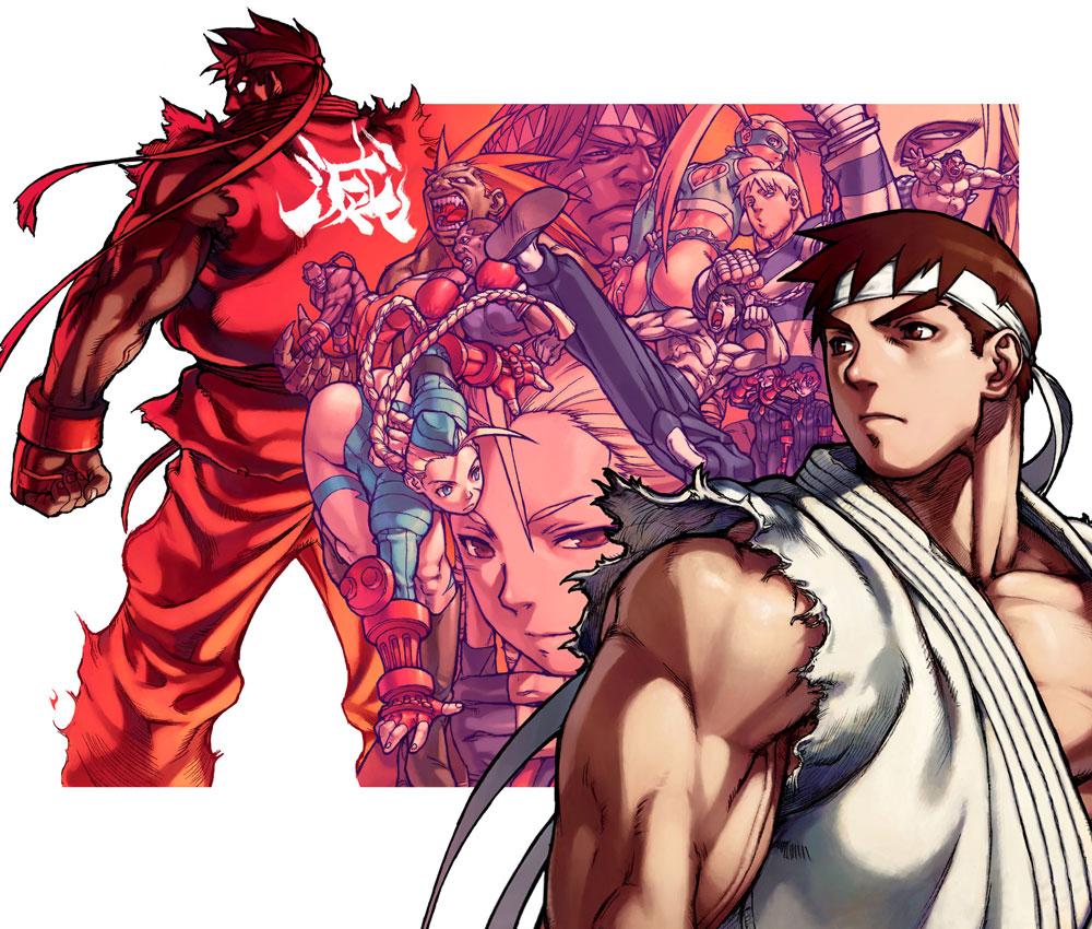 Street-Fighter-Alpha-3-Promotional-Artwork